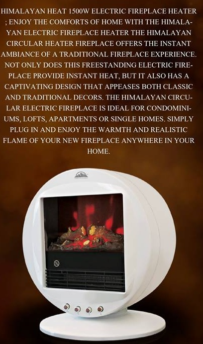 Features of Himalayan Fire Place Heaters